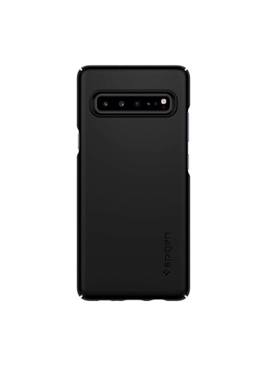 Spigen Galaxy S10 5G Kılıf, Thin Fit Siyah